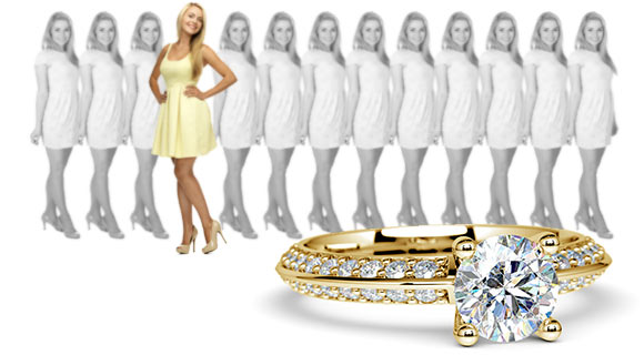 Design your own yellow gold ring settings personal touch solutioingenieria Choice Image