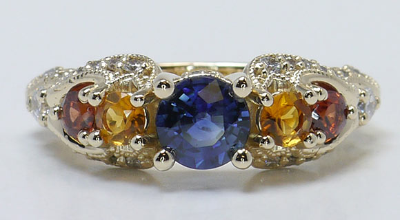 Sapphires & Gemstones as the Star