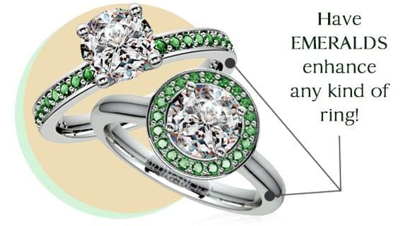 Show Love Through an Emerald