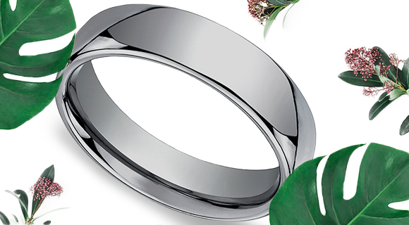Simple Wedding Bands for Him