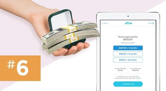 Step 6: Figure out payment arrangements.