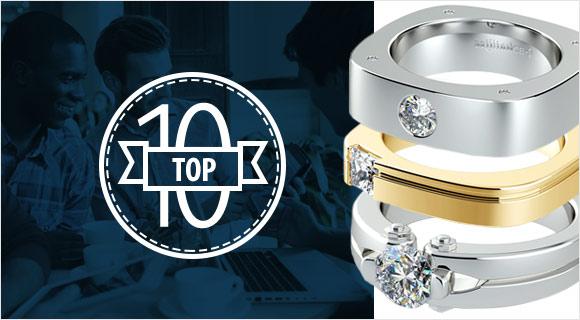 Top 10 Men's Engagement Rings
