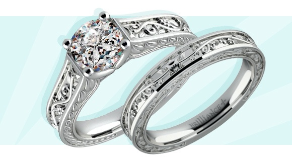 Wedding and Engagement Rings with Matching Metals