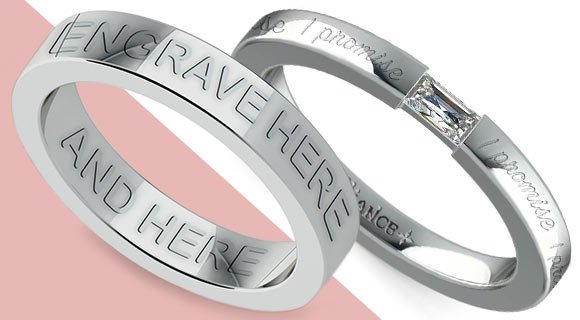 Wedding Bands with Personal Engravings
