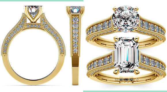 A Yellow Gold Ring: Always a Classic