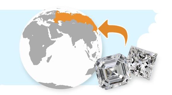 Diamonds in Russia