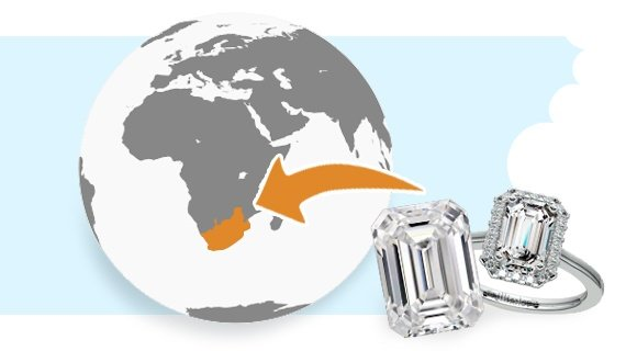Diamonds in South Africa