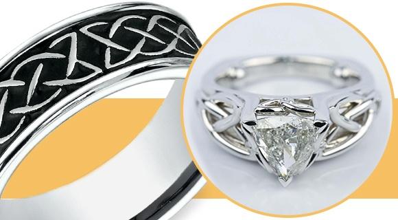 Eternal Love & Celtic Knot Rings