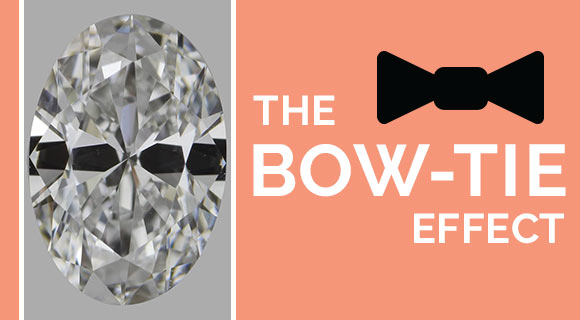 Oval Diamond: The Bow-Tie Effect