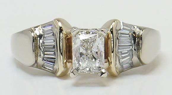 Radiant Cut Diamond Settings