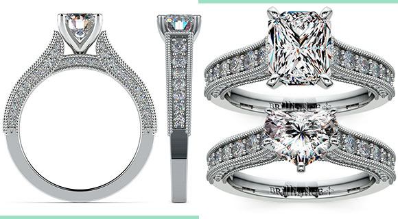 Rings in White Gold: Affordable Luxury