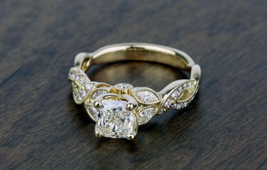 #1 Side-Stone Diamond Ring | Brilliance.com