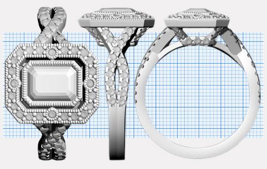 Custom Emerald Rings | Brilliance.com