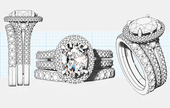 Custom Oval Rings | Brilliance.com