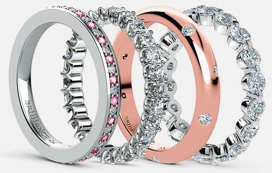 Eternity Bands | Brilliance.com
