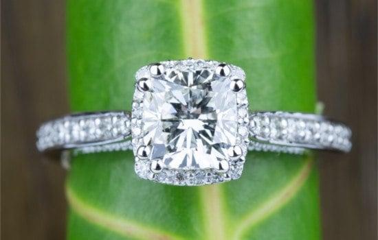 #3 Halo Diamond Ring | Brilliance.com