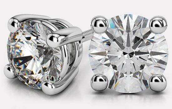 Create Your Own Diamond Earrings | Brilliance.com
