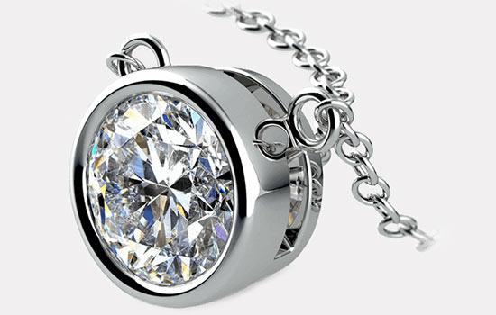 Create Your Own Diamond Necklace | Brilliance.com