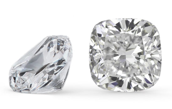 Image result for cushion cut diamond