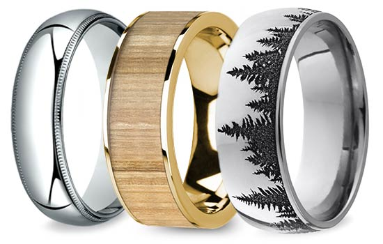 Men's Wedding Rings   Brilliance.com