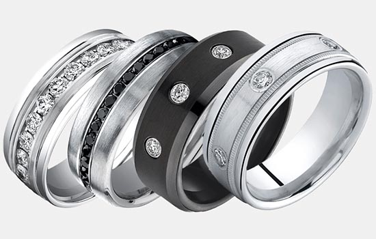 Men's Wedding Rings | Brilliance.com
