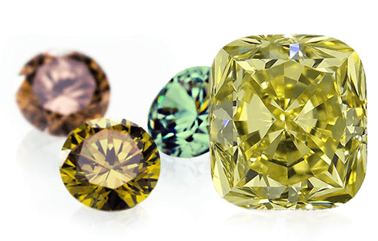 The effect of fluorescence on fancy color diamonds | Brilliance.com