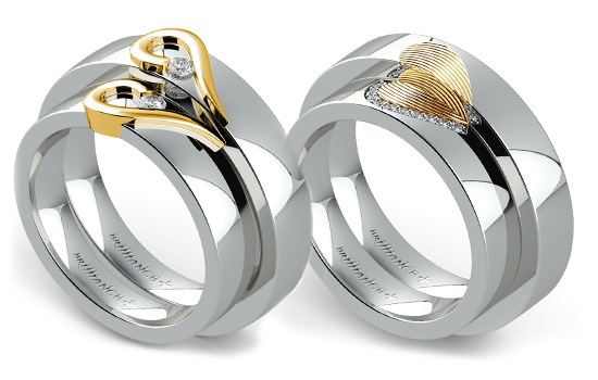 For You Both: Matching Wedding Sets | Brilliance.com