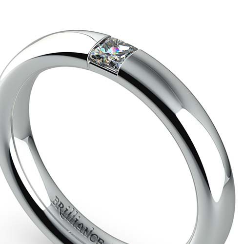 Princess Diamond Promise Ring