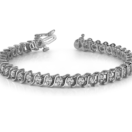 S-Link Diamond Bracelet
