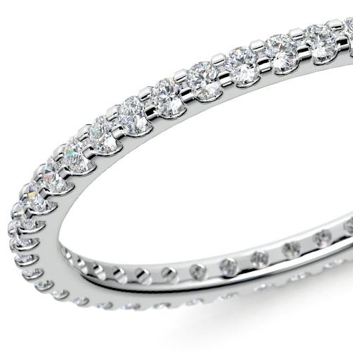 Scallop Diamond Eternity Ring