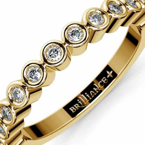 Three Row Pave Diamond Ring