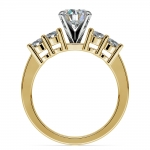 Round Diamond Engagement Ring in Yellow Gold (1/3 ctw) | Thumbnail 02