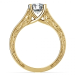 Antique Solitaire Engagement Ring in Yellow Gold | Thumbnail 02