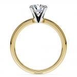 Comfort-Fit Solitaire Engagement Ring in Yellow Gold (2.5mm)  | Thumbnail 02