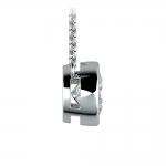 Bezel Diamond Solitaire Pendant in White Gold (1 1/2 ctw) | Thumbnail 02