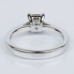 Petite Cathedral Asscher Engagement Ring in White Gold (0.70 ct.) | Thumbnail 04