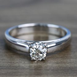 0.41 Carat Round Diamond Cathedral Solitaire Engagement Ring | Other Recently Purchased Rings