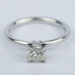 0.90 Carat Princess Diamond Engagement Ring in Platinum | Other Recently Purchased Rings