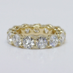 6.50 ctw. Custom Eternity Band with Certified Diamonds | Other Recently Purchased Rings