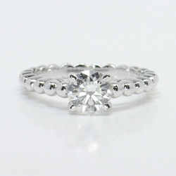 Beaded Cathedral 1 Carat Round Solitaire Diamond Engagement Ring | Other Recently Purchased Rings
