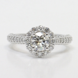 Beautiful Halo Diamond Ring Setting | Other Recently Purchased Rings