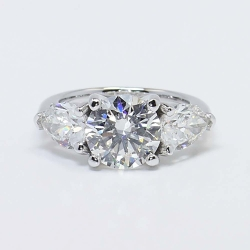 Classic Round Cut Three Stone Pear Diamond Ring | Other Recently Purchased Rings