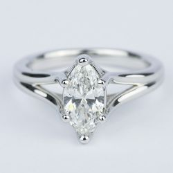 Curved Split Shank Marquise Diamond Engagement Ring | Other Recently Purchased Rings