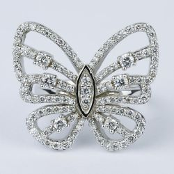 Custom Butterfly Shaped Diamond Fashion Ring  | Other Recently Purchased Rings