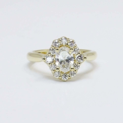 Diamond Accent Halo Custom Ring | Other Recently Purchased Rings