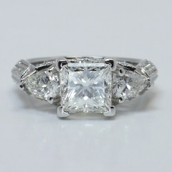 Diamond Ring Setting in Platinum | Other Recently Purchased Rings