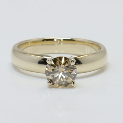 1 Carat Round Solitaire Fancy Brown Diamond Engagement Ring | Other Recently Purchased Rings