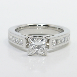 Princess Channel Diamond Engagement Ring | Other Recently Purchased Rings