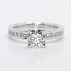 Round-Cut Channel Diamond Engagement Ring (1/2 ctw) | Other Recently Purchased Rings