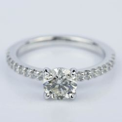 Scallop Round 0.75 Carat Diamond Engagement Ring | Other Recently Purchased Rings